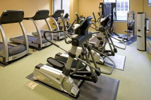 The fitness center and/or fitness facilities at Andaz Savannah - A Concept by Hyatt
