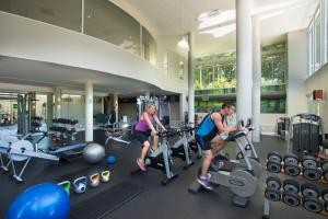 The fitness center and/or fitness facilities at Fancourt Hotel