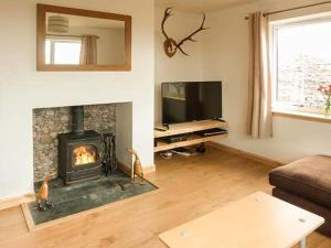 A television and/or entertainment centre at Mountain View, Lairg