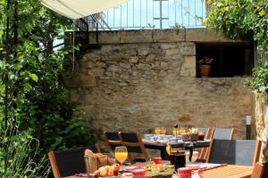 Restaurant ou autre lieu de restauration dans l'établissement Relais de la Renaissance