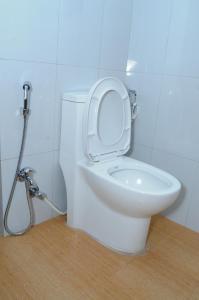 A bathroom at Hotel Bagmati