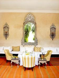 Banquet facilities at the riad