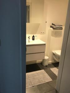 A bathroom at M-Maastricht