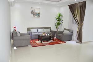 Uma área de estar em Maqam AL Diyafa