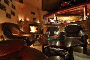 Lounge alebo bar v ubytovaní Penzion In Lux