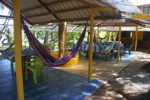 Children's play area at Cebaco Sunrise Lodge