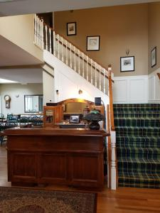 The lobby or reception area at Lady MacDonald Country Inn