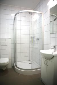 Kúpeľňa v ubytovaní City Express Hostel