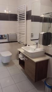 A bathroom at Karczma Dolina Pstrąga