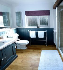 A bathroom at Rose Cottage