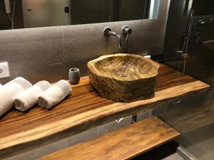 Salle de bains dans l'établissement Hippie Chic Hotel
