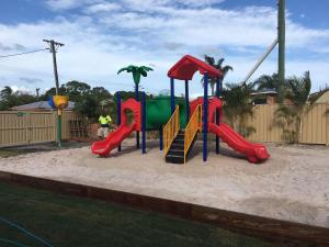 Children's play area at Discovery Parks - Fraser Street, Hervey Bay