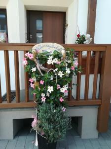 Ein Balkon oder eine Terrasse in der Unterkunft Kleinnaglerhof