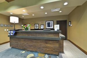 The lobby or reception area at Hampton Inn & Suites Columbia/Southeast-Fort Jackson