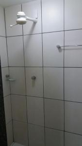 A bathroom at Sambura Hotel