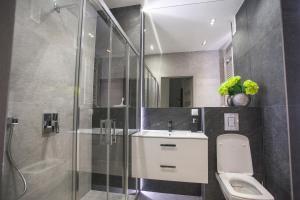 Łazienka w obiekcie Apartament w Cieplicach