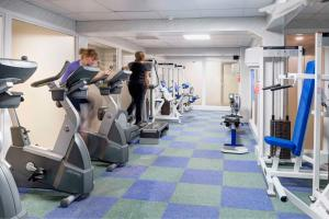 The fitness centre and/or fitness facilities at Best Western Weymouth Hotel Rembrandt