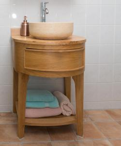 A bathroom at El Puerto Bed and Breakfast