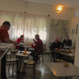A restaurant or other place to eat at Su Marmuri
