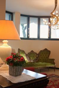 Area soggiorno di Hotel La Cascata