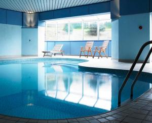 The swimming pool at or near Mercure London North Watford Hunton Park