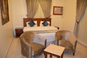 Cama ou camas em um quarto em Badova residential units