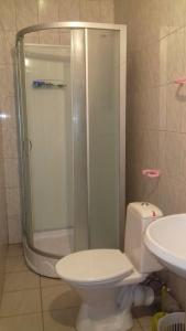 Ванная комната в Общежитие на Железнодорожной 17Б