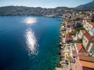 Άποψη από ψηλά του Halki Sea House