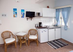 Кухня или мини-кухня в Themelina Studios