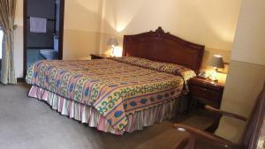 Cama o camas de una habitación en Hotel Premier