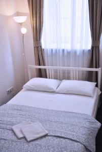 Кровать или кровати в номере Хостел Like Home