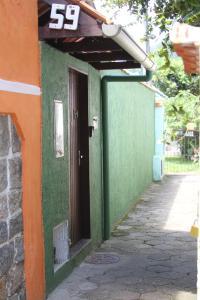 A fachada ou entrada em Aurea Flats