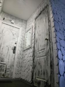 Ванная комната в Apartment on Nikolaya Budy