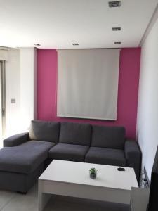 Zona de estar de Apartamentos Marjal 3