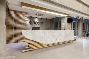 The lobby or reception area at Ramada Encore by Wyndham Rio de Janeiro Ribalta
