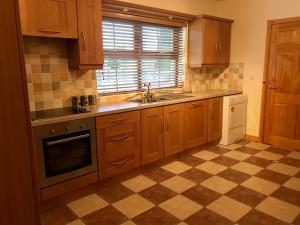 A kitchen or kitchenette at Clogher Valley Golf Club