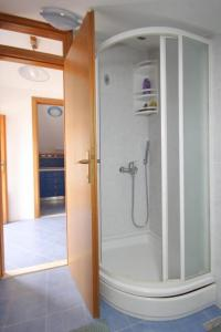 A bathroom at Apartments with a parking space Mocici, Dubrovnik - 9081