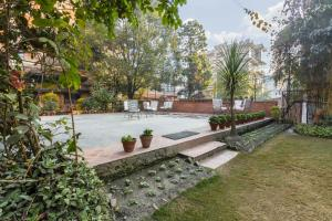 The swimming pool at or near Kantipur Temple House