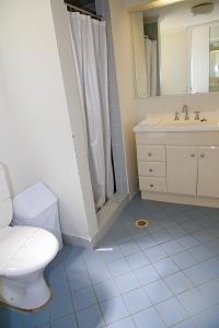 Ванная комната в Darcy Arms Hotel Motel