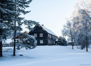 Toftemo Turiststasjon during the winter