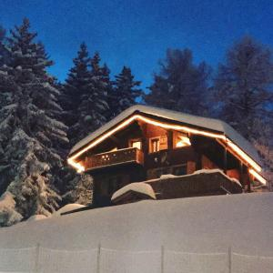 Chalet Tannenduft during the winter