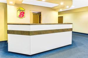 The lobby or reception area at Super 8 by Wyndham Parker/SE Denver Area