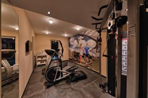 The fitness center and/or fitness facilities at BEST WESTERN Hotel The K Unterföhring