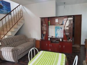 A seating area at Casa na Ilha