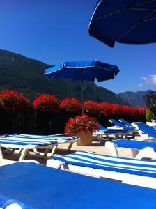 Piscina en o cerca de Hotel Pyrénées
