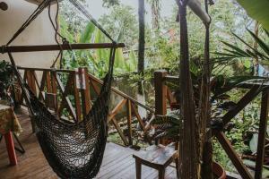 A balcony or terrace at Casa de Lis Hotel & Tourist Info Centre