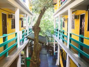 Uma varanda ou terraço em Che Lagarto Hostel Morro De São Paulo