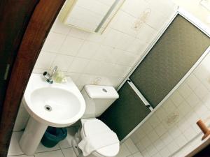 Um banheiro em Che Lagarto Hostel Morro De São Paulo