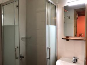 A bathroom at Hotel Rural El Lagar De Las Médulas