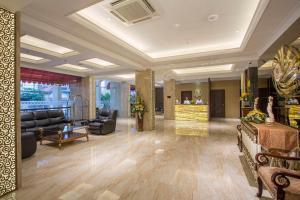 The lobby or reception area at Prima In Hotel Malioboro